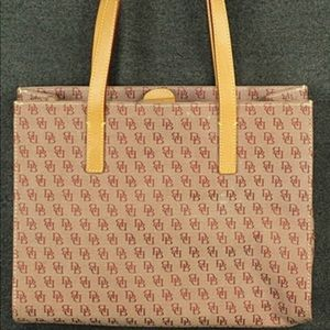 Dooney and Burke tote bag